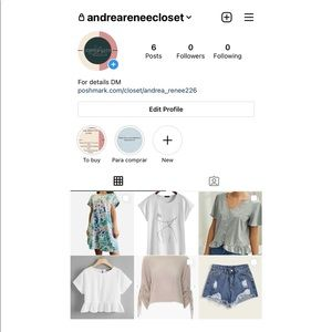 If you're interested to shop, FOLLOW ME on IG.